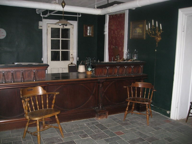 The basement pub